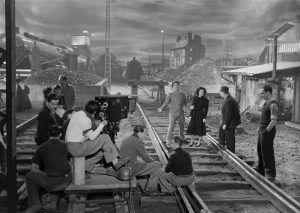 Distintas secuencias y un set de trabajo durante el rodaje.