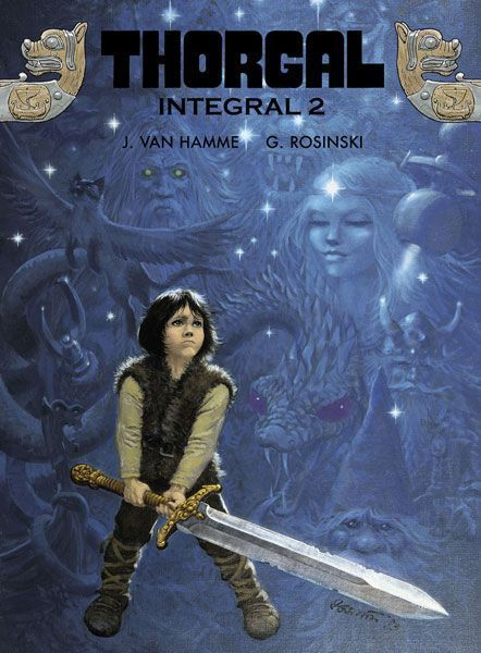Portada de Thorgal Integral 2
