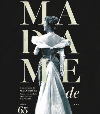 caratula Madame de