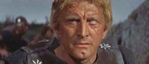 Kirk Douglas, es el epítome del legendario vikingo.