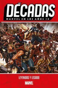 Reseña Cómic Marvel decadas
