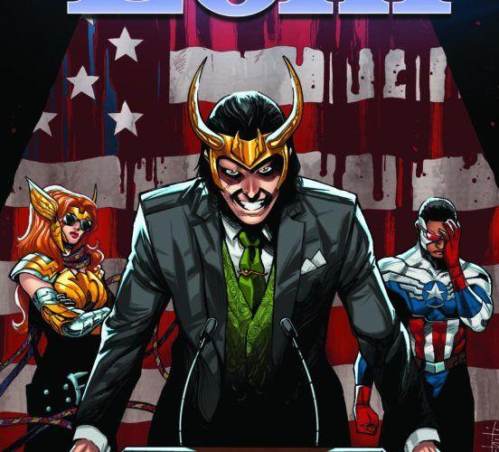 Vota a Loki Reseña Comic